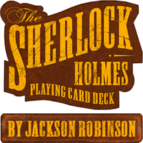 Sherlock Holmes Playing Cards by Jackson Robinson